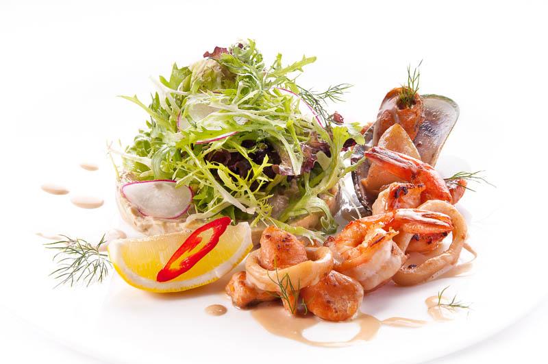 Новые рецепты салатов из морепродуктов с